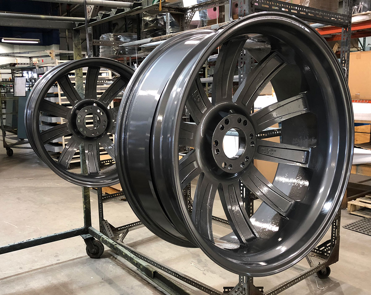 Powder Coated Auto Rims